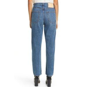 rag bone ruth super high rise straight jeans J3